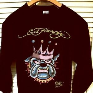 Ed Hardy Women's XL sweatshirt, Signature Series